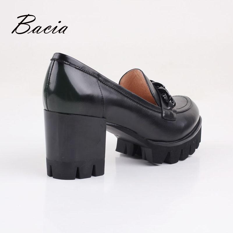 Rond Noir As Chaussures Vb051 De Carré Véritable Picture Talon Qualité Haute Bacia En Fleur Couleurs Showing Cuir Bout Pleine Gradient Brevet Vert wUYHqI7