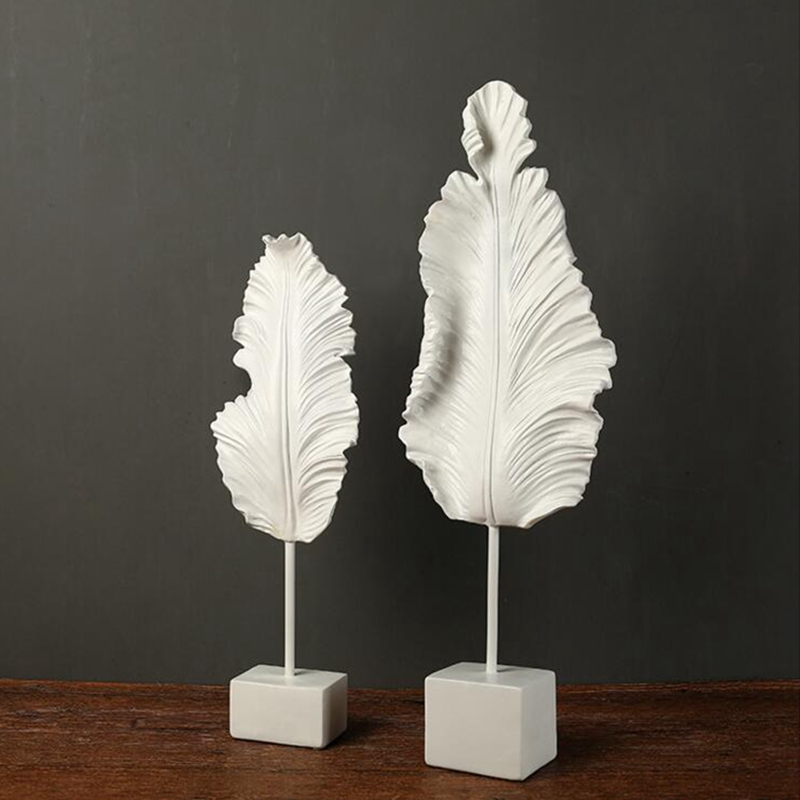 Home villa club leaf sculpture (4)