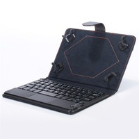 Universal 8 9 Inch Bluetooth Keyboard Leather Stand Case For PC Tablet A8