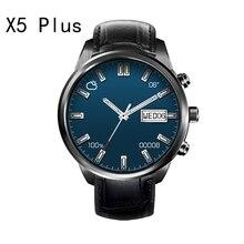CALIENTE Finow X5 plus Reloj Inteligente Android 5.1 MTK6580 Quad A Amoled PK KW88 LEM5/LES1 Reloj SIM WIFI Reloj para iOS/Andorid