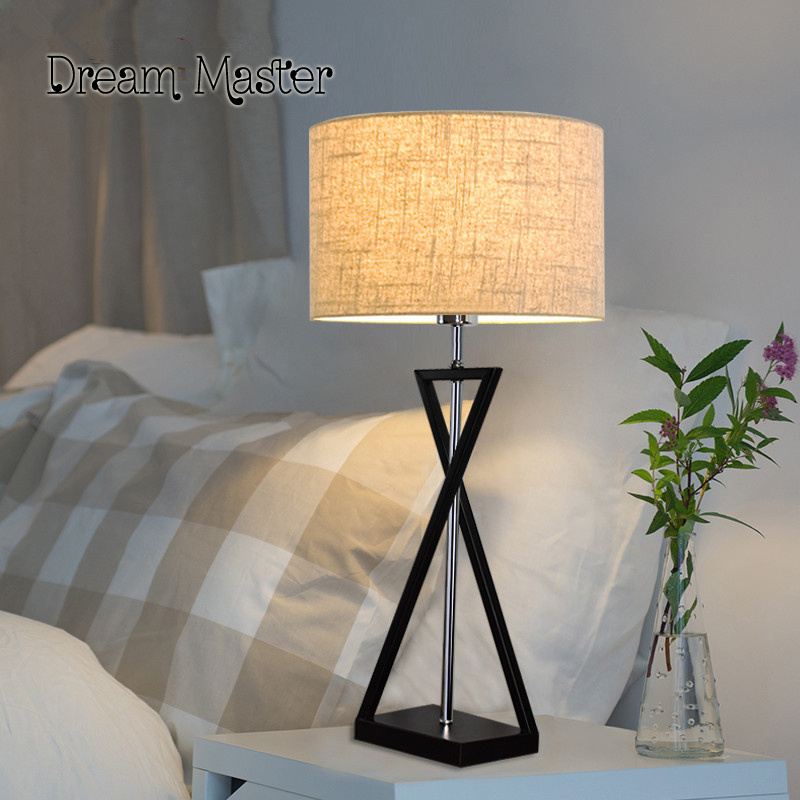 Table lamp bedroom bed personality simple fashion creative modern living room study hotel room warm lamps tuda glass shell table lamps creative fashion simple desk lamp hotel room living room study bedroom bedside lamp indoor lighting