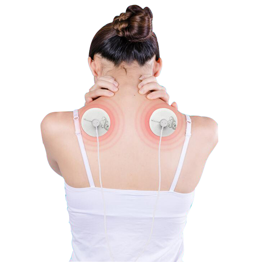 US $19 5 |Mini Massage Stickers Electronic Pulse Massager USB Charge With 6  Modes Muscle Pain And Fatigue Treatment-in Relaxation Treatments from