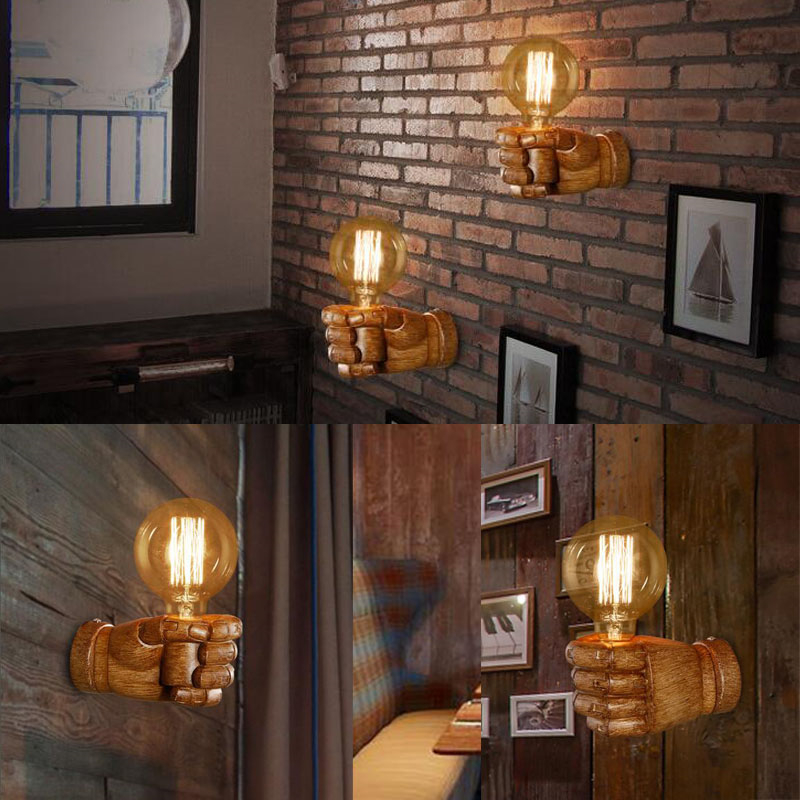 Edison lâmpadas Bar Café Estudo Loft Foyer