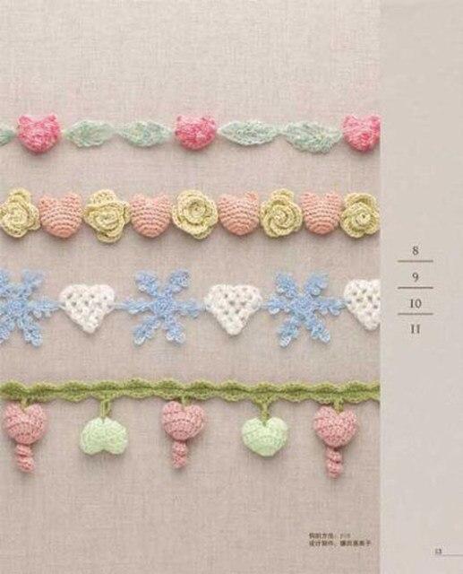 Tienda Online Crochet patrón de corazón/tejido súper lindo 3D ...