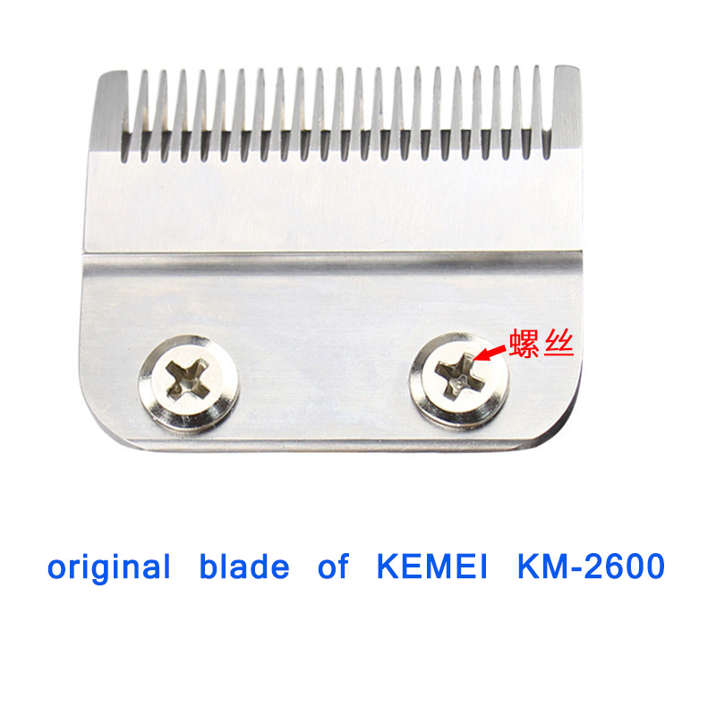 Kemei 2600 Replacement Blade Hair Clipper Blade Barber Cutter Head For Electric Hair Trimmer Shaver Clipper Cutting Machine