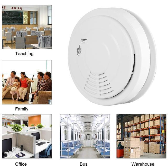 Wireless Fire Protection Smoke Detector Portable Sensors