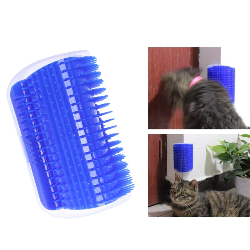 Cat Self Groomer Hair Removal Brush Comb Cat Massage Tool with Catnip Cat Comb Dog Combs