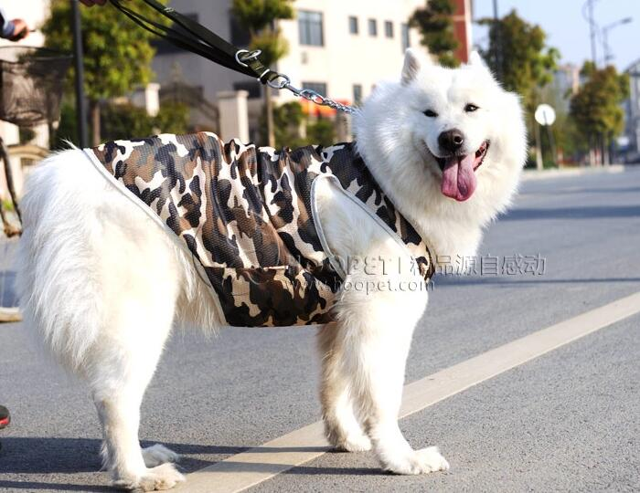 Large Dogs Fashion Cool Camouflage Vest Big Dogs Summer Vests Mesh Breathable Clothes Pet Costume T Shirts 1pcs 3xl-7xl Home & Garden Dog Clothing & Shoes