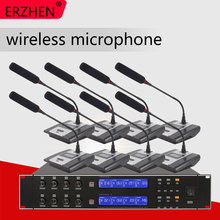 цена на Hot Selling Wireless Mic Professional Wireless Microphone System R-U8000 High Quality Wireless Microphone