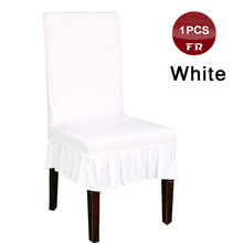 Wholesale 1PC Dining Room Decoration Universal Spandex Stretch Chair Cover Skirt For Hotel Wedding Party Banquet