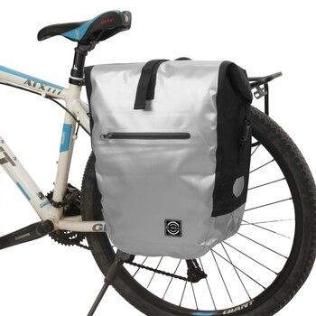 Borse Bici Impermeabili | Impermeabile Sacchetto Della Bici MTB Di Strada Della Bicicletta Cremagliera Della Parte Posteriore Pannier Del Sacchetto In Bicicletta Del Sedile Posteriore Del Sacchetto Di Grande Capacità Bike Accessori Per Biciclette