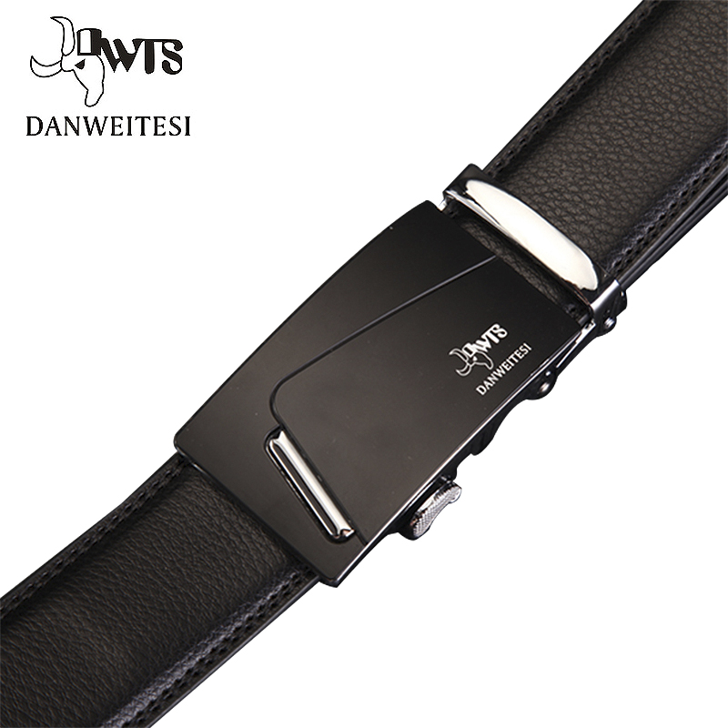 [DWTS]New Style 2016 Men Belt Luxury Automatic Buckle Leather Belts For Business Men Long Top Quality Mens Free Shipping