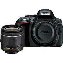 Nikon D5300 24.2MPสีดำDSLRกล้องร่างกายและAF-P DX 18-55มิลลิเมตรf/3.5-5.6กรัมVRเลนส์