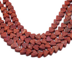 """JYX милые в форме сердца красные бусины материалы diy материал ручной работы 11 мм красный Коралл строка 15 """"DIY Стильный Коралл цепочки и"""