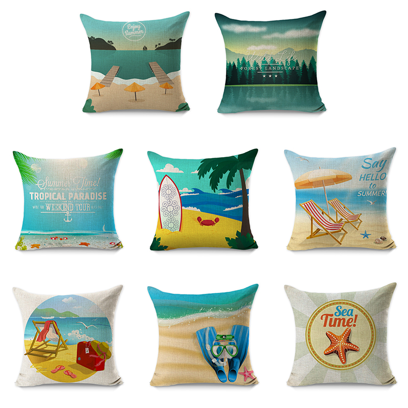 RUBIHOME (8 Pieces/lot) Creative Decorative Pillow Cushion Cover Throw Polyester Fabric Home ...