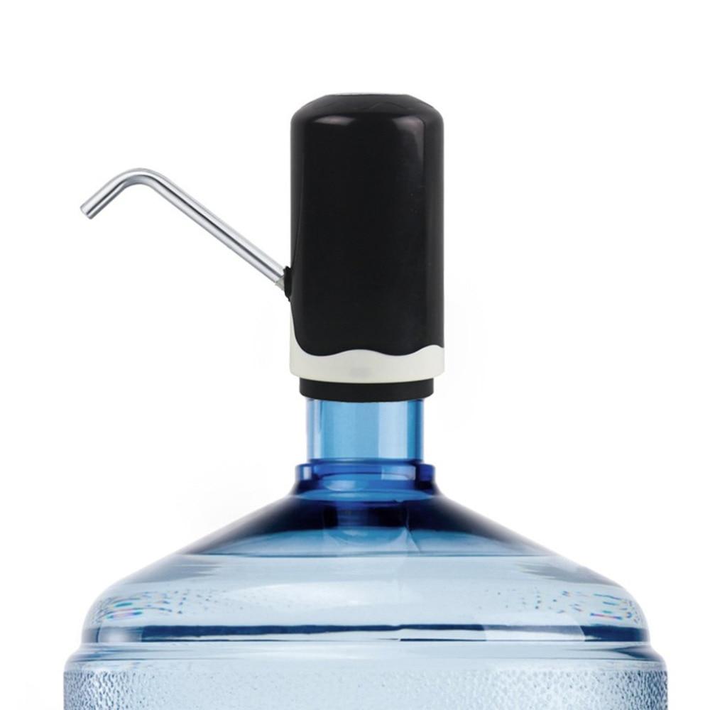 Новый горячий автоматический электрический портативный диспенсер для водяного насоса USB Перезаряжаемый питьевой дозатор для бутылки