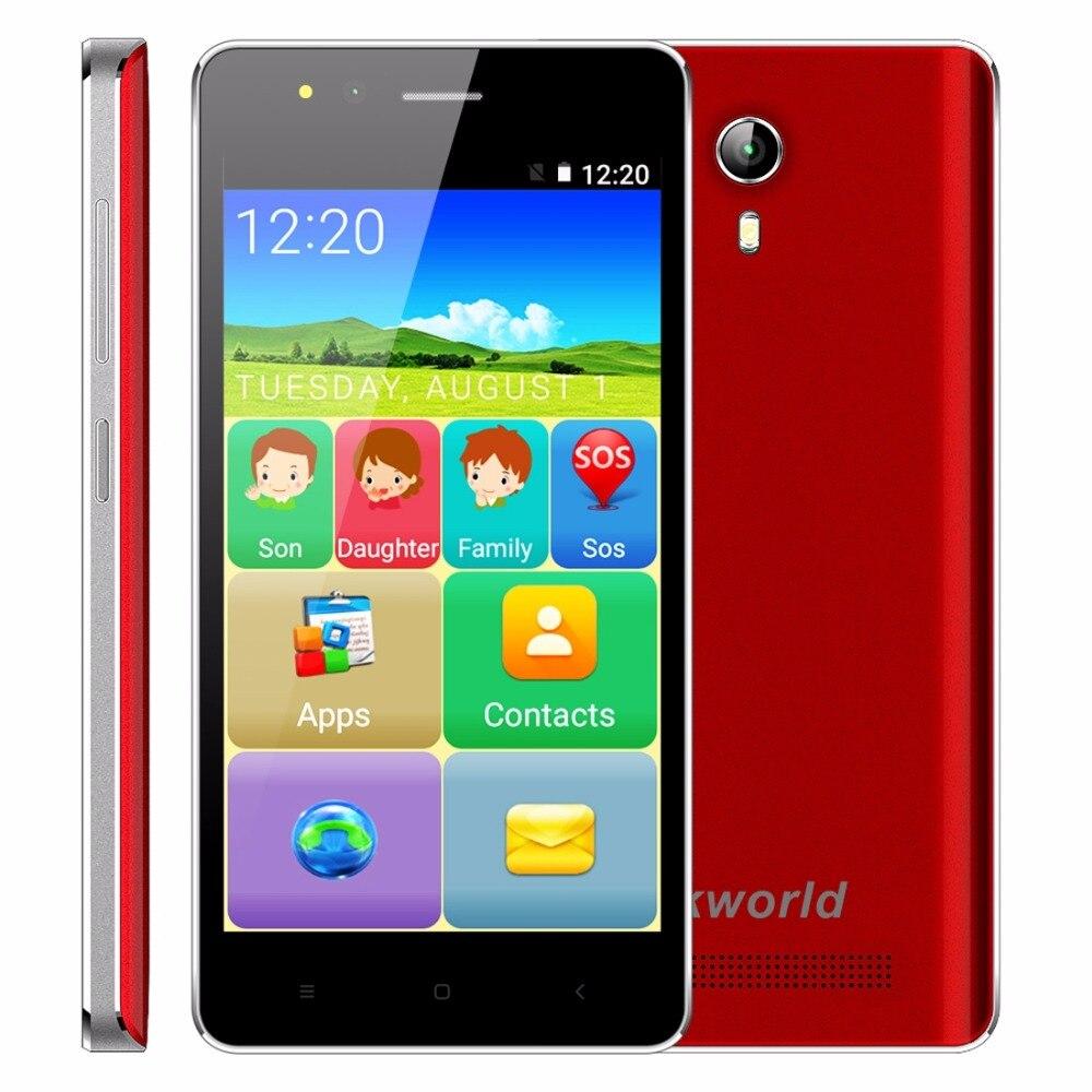 VKworld F1 4.5 inch 3G Smartphone Android 5.1 MT6580M Quad Core 1.1GHz Elder Phone Dual SIM 1GB RAM 8GB ROM Louder Speaker FM
