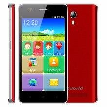 VKworld F1 4.5 pouce 3G Smartphone Android 5.1 MT6580M Quad Core 1.1 GHz Personnes Âgées De Téléphone Dual SIM 1 GB RAM 8 GB ROM Haut-Parleur Plus Fort FM