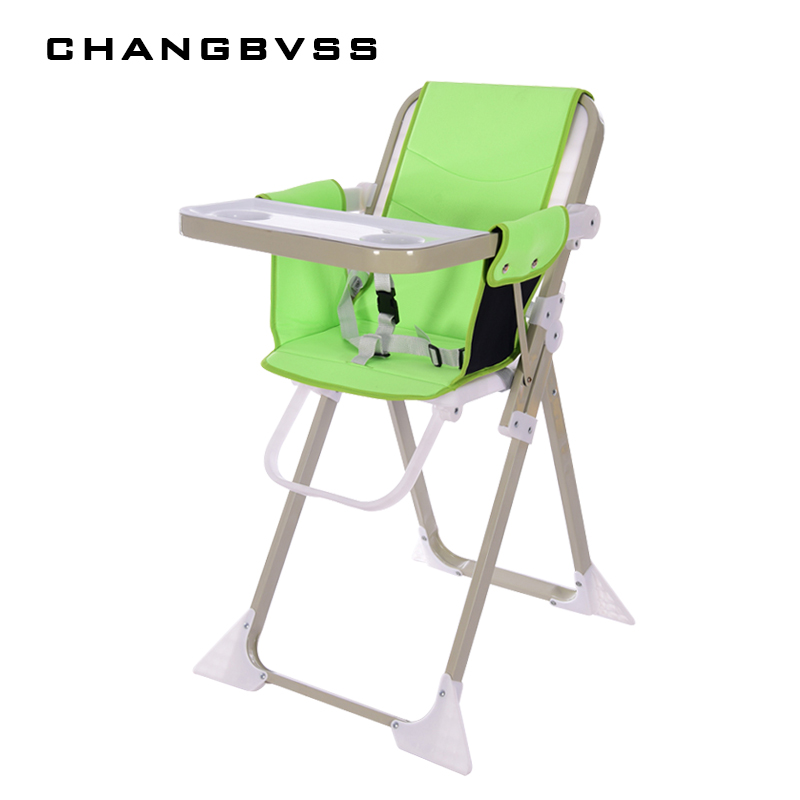 Children's Chair Multi-Function Folding Portable Baby Chair BB Cining Table High Chair Seat Suitable For 6 Months To 4 Years Old