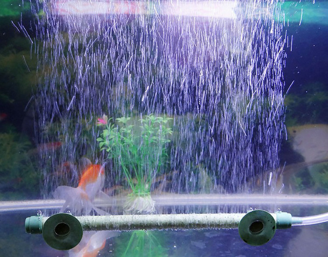 1 pcs fish tank aquarium air stone bubble wall tube 7 inch for Airstone for fish tank