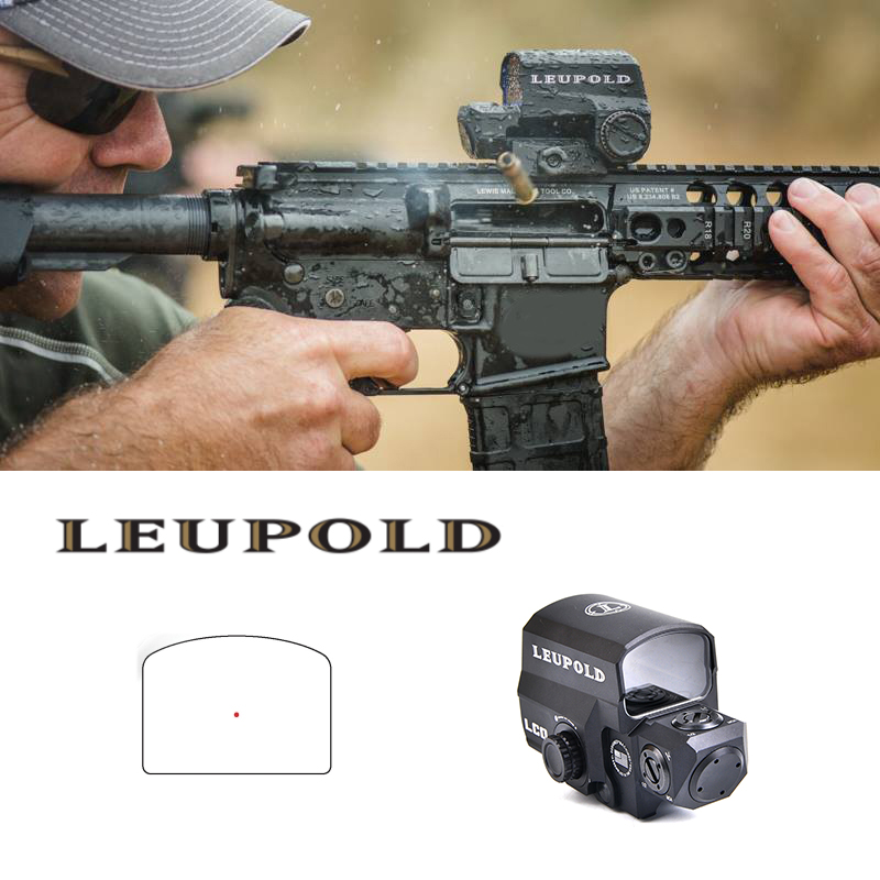 LCO Red Dot Sight Holographic Sight Tactical Riflescope Fits Any 20mm Rail Mount Hunting Scopes Reflex