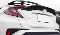 Accessories Black Accessories Rear With Wing Spoiler Cover Trim 1pcs For Toyota C HR 2016 2017
