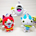 3 unids/lote Nueva 20 cm Anime Cartoon Yo-yo Kai Reloj Whisper Jibanyan Komasan Gato Kawaii Peluches Peluches Peluches muñecas Juguetes Para Niños