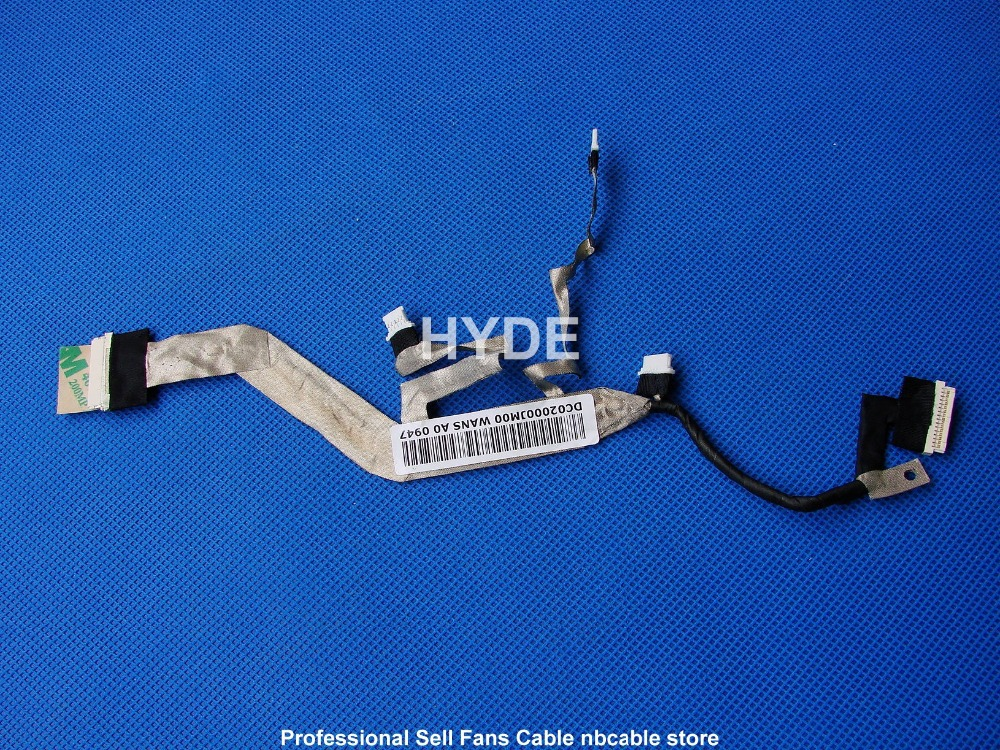 HYDE NEW DC02000JM00 LAPOP LVDS CABLE FOR HP EliteBook 2530P 20PIN LCD LVDS CABLE ноутбук hp elitebook 820 g4 z2v85ea z2v85ea