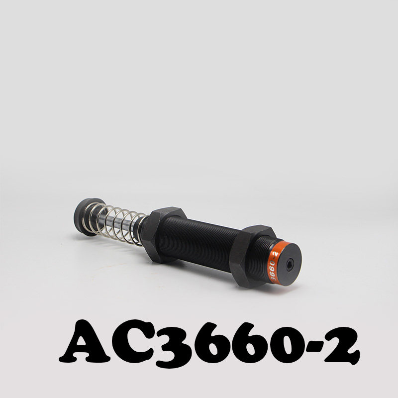 High Quality AC3660 Pneumatic Hydraulic Shock Absorber AC3660-2 Automatic compensation type hydraulic buffer high quality hydraulic valve sv13 16 0 0 00