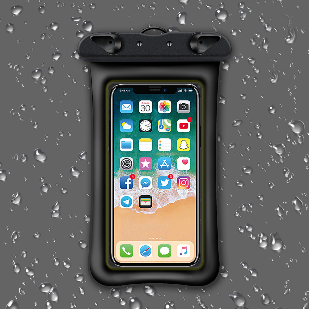 Waterproof floating phone case pouch 5