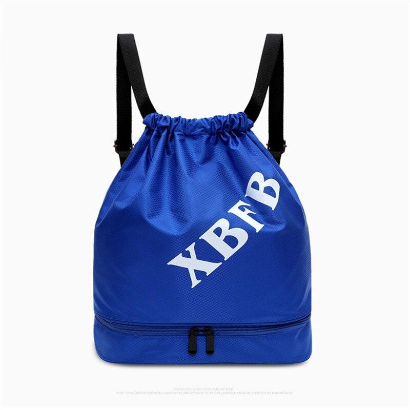 10pcs Unisex Solid Color Drawstring Bag Beach Bag Outdoor Fitness Sport Bag Convenient Waterproof Drawstring Travel Bag Backpack