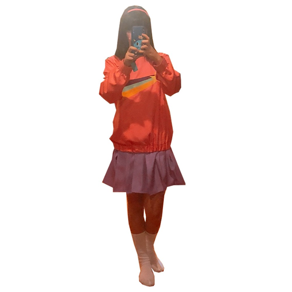 2019 Gravity Falls Mabel Pines Cosplay Costume 3 Styles And Wig For Choosing