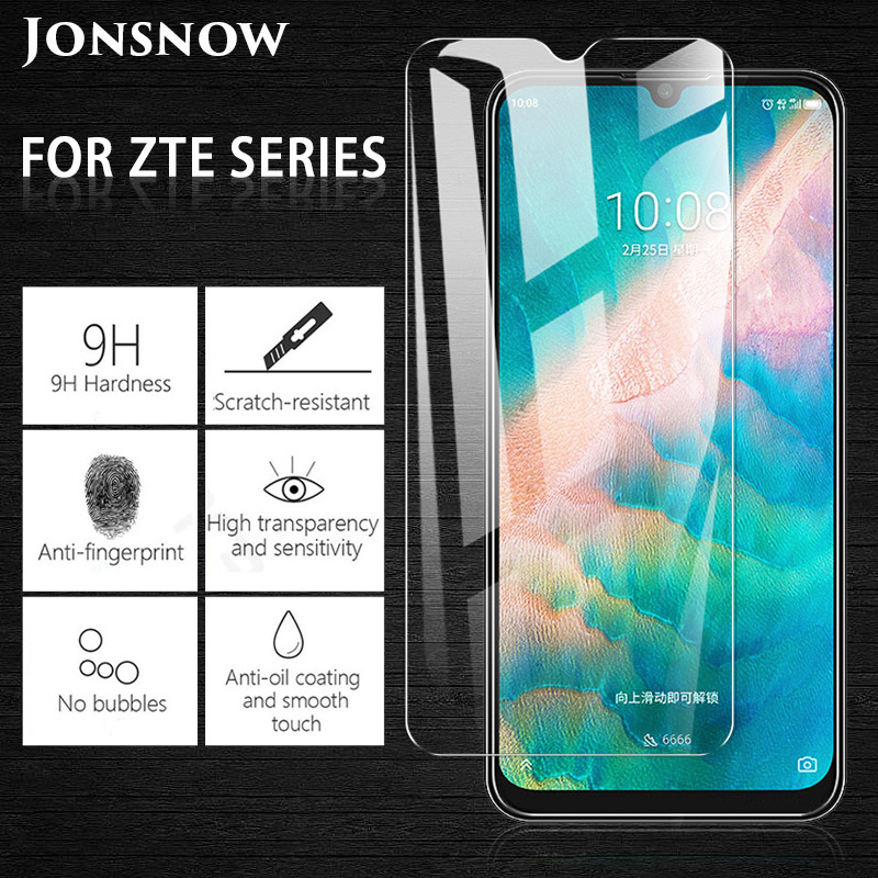 JONSNOW Tempered Glass For ZTE Blade V10 V10 Vita Screen Protector For ZTE Blade L8 A7 Vita A3 A5 2019 A7 2019 Protective Film