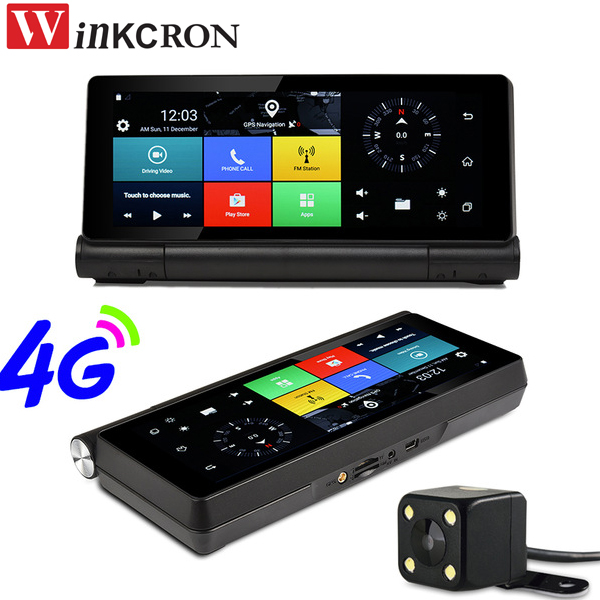 7 inch Car DVR GPS Navigation 4G SIM And