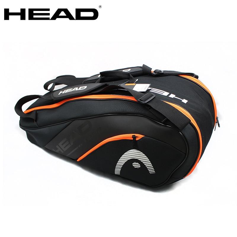 Tennis Bag Tennis Racket Bag Badminton Bag Large Capacity 6-9 Tennis Racquets Tennis Racket Backpack With Separated Shoes Bag