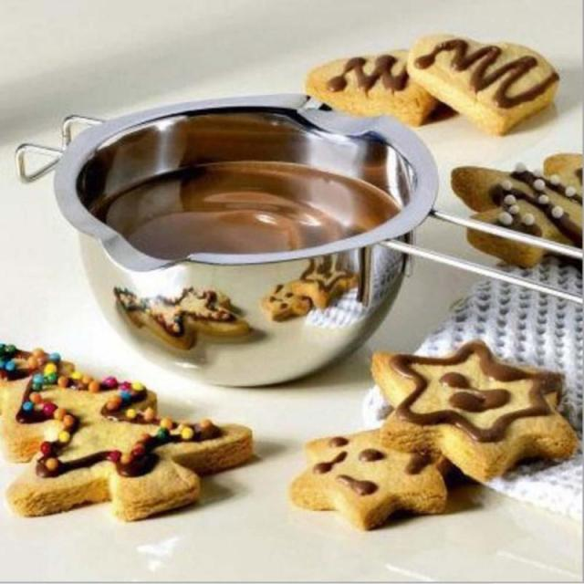 304 Stainless Steel Double Boiler Universal Fondant Caramel Chocolate Melt Bowl Butter Pot Cheese Pan Heating Baking Tool A50