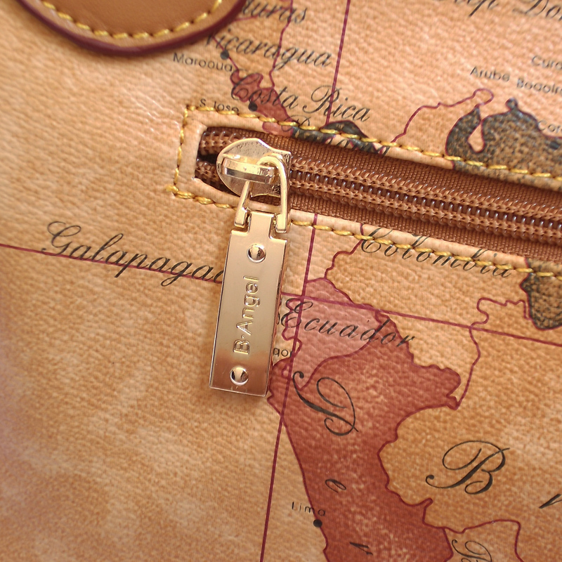 2016 vintage map bag classic style womens handbags fasion female 2016 vintage map bag classic style womens handbags fasion female handbags womens travelling shoulder bag world map bage 555 in shoulder bags from luggage gumiabroncs Choice Image