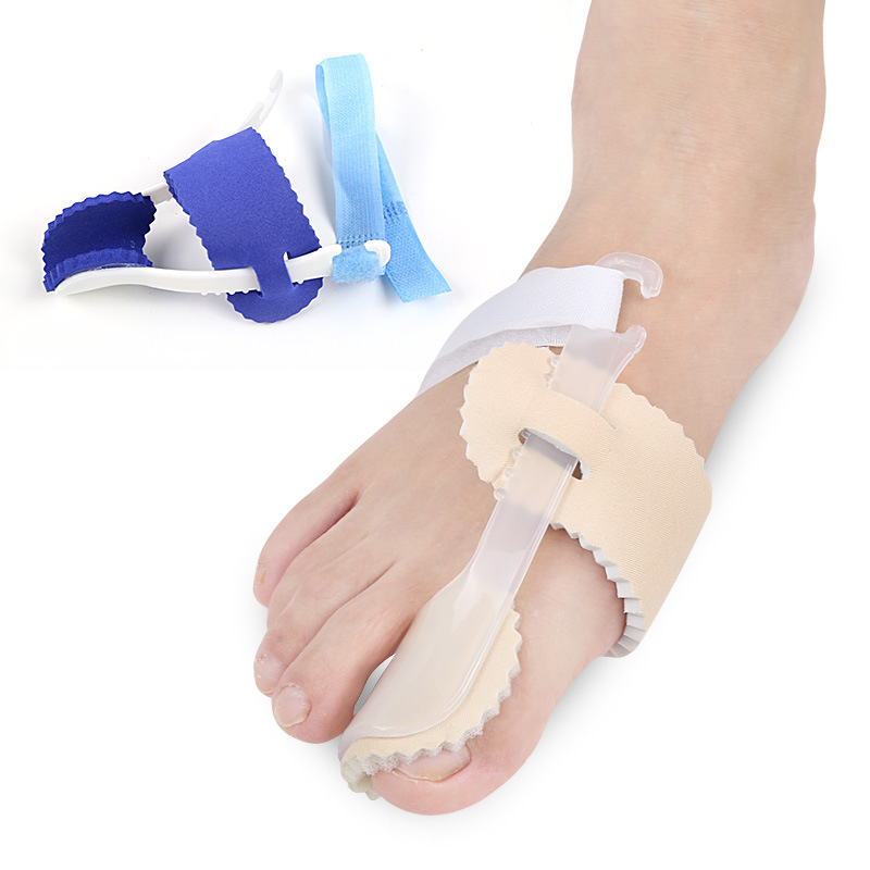 Hallux valgus orthosis thigh bone correction correction appliance to correct tension separator toe shoe pad hallux valgus orthotics big toe corrector foot pain relief feet guard care bone corretivo bunion night and day used splint