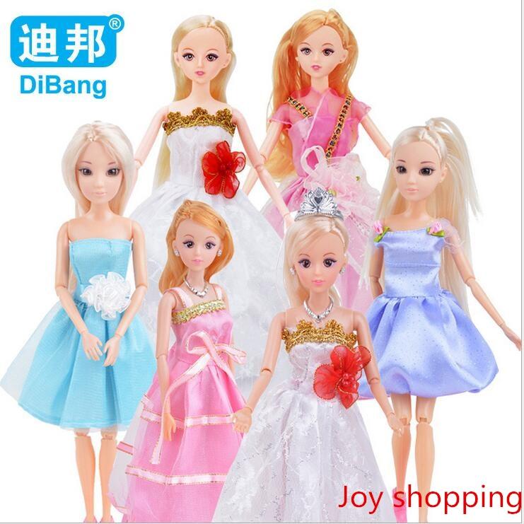 Children's Educational Doll Doll 6 Gemensam High-end Klänning Ai Pi Barn Doll Toys
