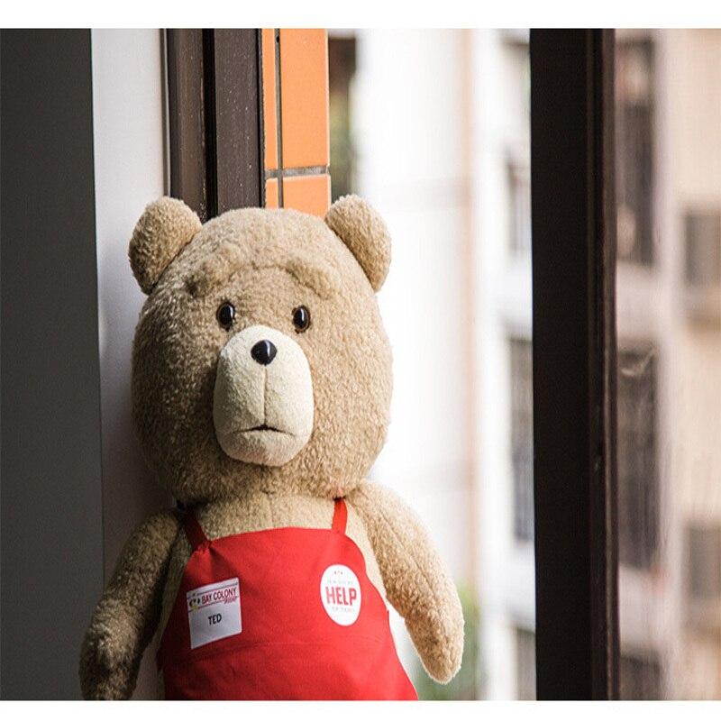 Ted2 tecknad film teddybjörn TED plysch leksaker mjuk fylld djur - Dockor och tillbehör - Foto 3