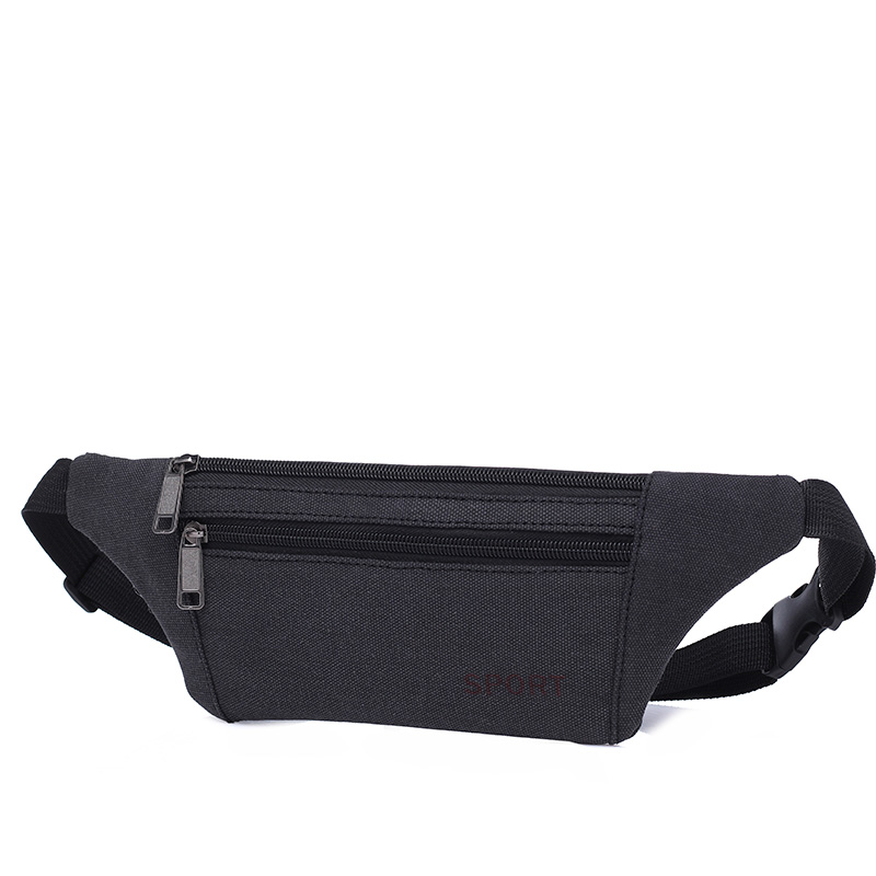New Canvas Waist Pack for Men Fanny Pack Bum Bag unicorn Women Money Belt Travelling Mobile Phone Bag sac banane femme wholesale цена