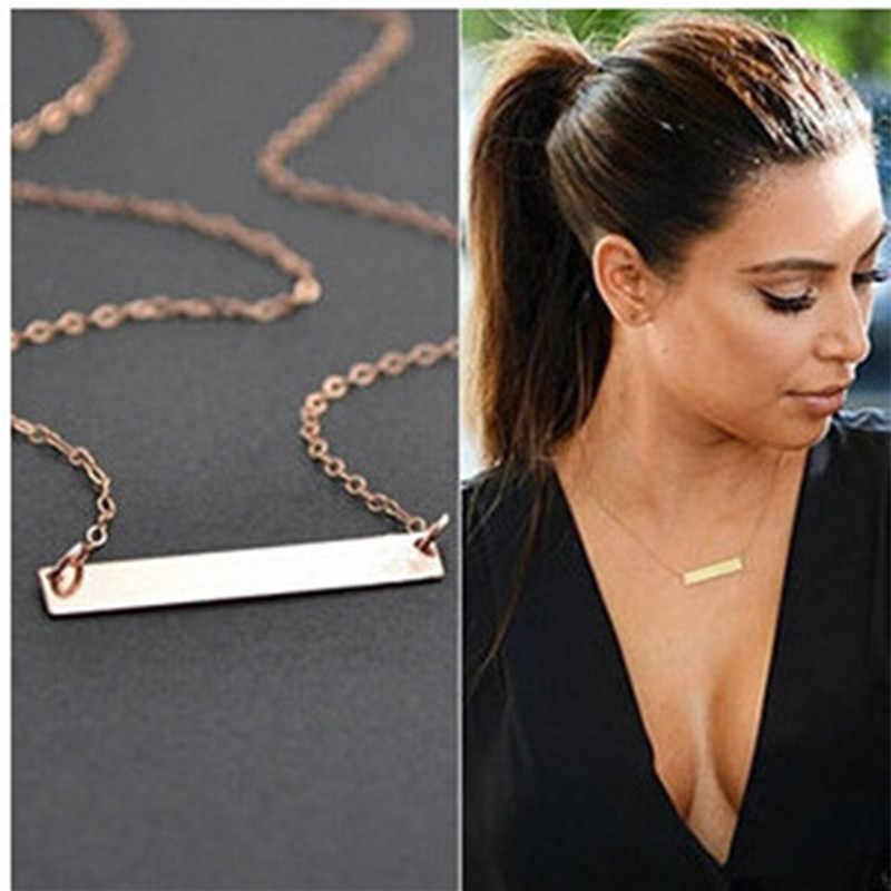 Hot neue Einfache und elegante Kurzen absatz Halskette für frauen 2019 choker großhandel collier femme Bijoux Collares Schmuck Colar