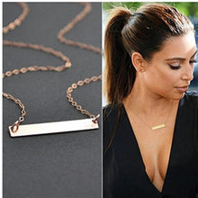 Hot new Simple and elegant Short paragraph Necklace for women 2019 choker wholesale collier femme Bijoux Collares Jewelry Colar(China)