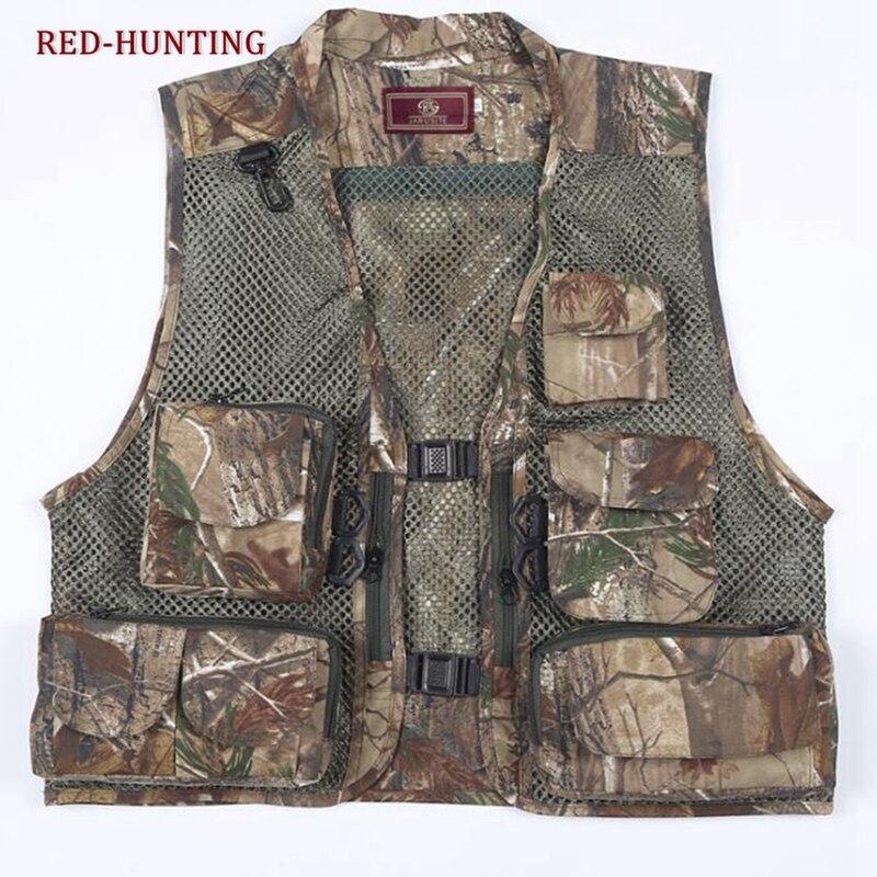 Men/'s Multi-Pocket Fishing Mesh Vest Photography Quick-Dry Jacket Zip Waistcoat
