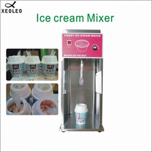 XEOLEO Frozen yogurt mixer MC/Flurry Ice cream maker Frozen ice cream machine 3600rpm Ice cream mixer 350w Milk shaking machine все цены