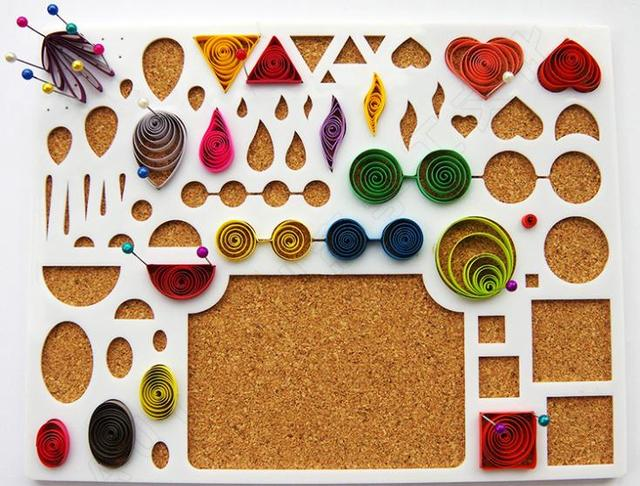 New Arriaval,Paper Quilling Tool,21*18cm Large Size Workboard ...