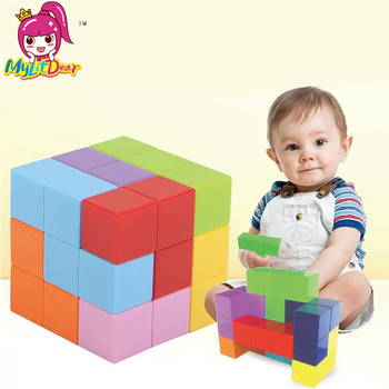 Magnetic Cubes Magnetic Designer Building Construction Toys Set Magnet Educational Toys For Children Kids Gift Puzzle