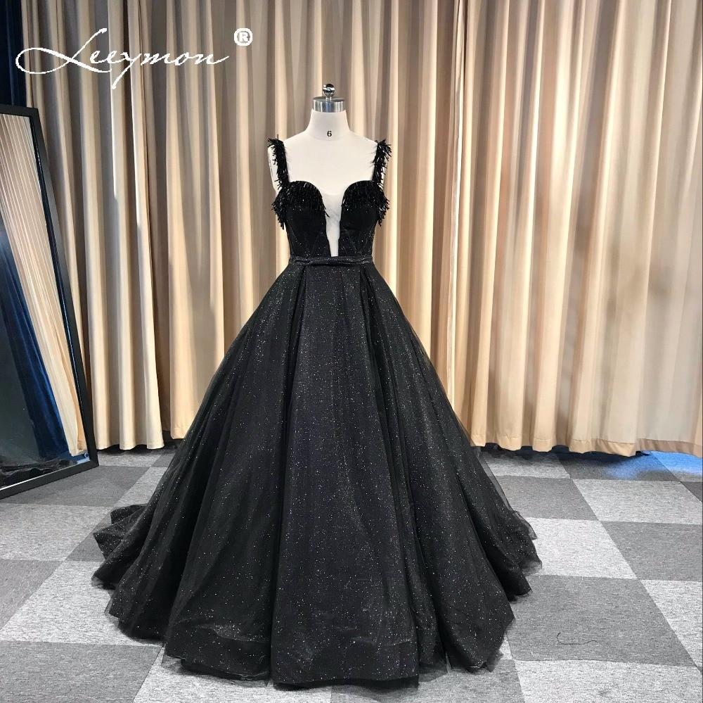 Robe De Soiree Black Shiny Sequin երեկոյան զգեստ - Հատուկ առիթի զգեստներ - Լուսանկար 4