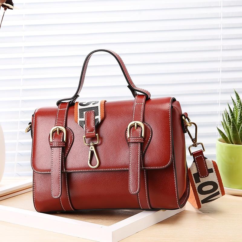Fashion Postman Handbag Oil Wax Genuine Leather Split Leather Shoulder Bag Women Party Crossbody Messenger Bag for Birthday Gift олисова о ред кожные и венерические болезни учебник