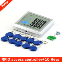 Mountainone Electronic RFID Proximity Entry Door Lock Access Control System 10 Keys Gate Opener Electronic Door